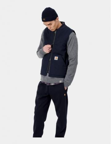 Carhartt Wip Vest Dark Navy Rigid. - Product Photo 1