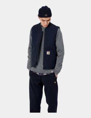 Carhartt Wip Vest Dark Navy Rigid. - Product Photo 2