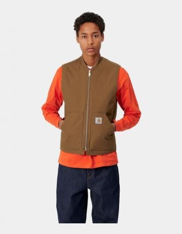 Carhartt Wip Vest Hamilton Brown Rigid. - Product Photo 1