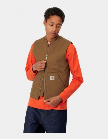 Carhartt Wip Vest Hamilton Brown Rigid. - Product Photo 2