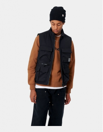 Carhartt Wip Colewood Vest Black. - Product Photo 1