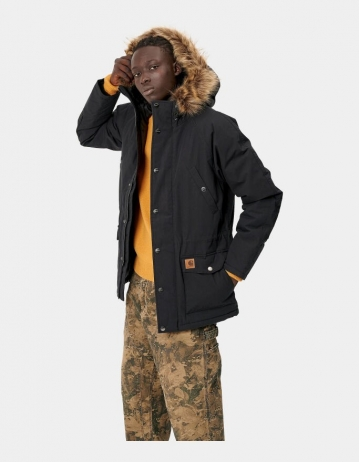 Carhartt Wip Trapper Parka Black. - Product Photo 2