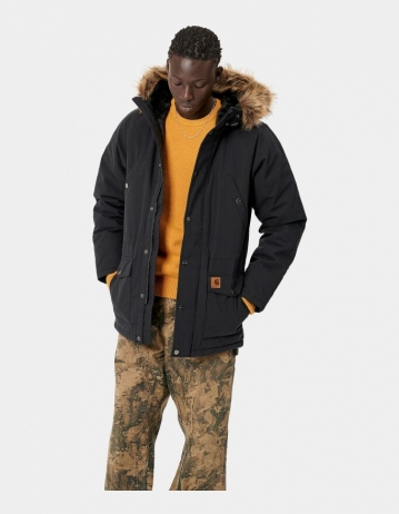 Carhartt Wip Trapper Parka Black. - Product Photo 1