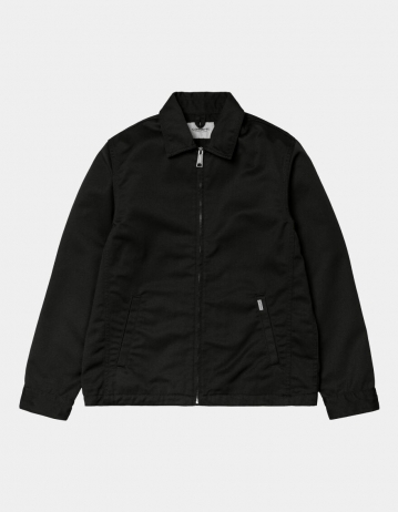 Carhartt Wip Modular Jacket (Summer) Black Rinsed. - Product Photo 1
