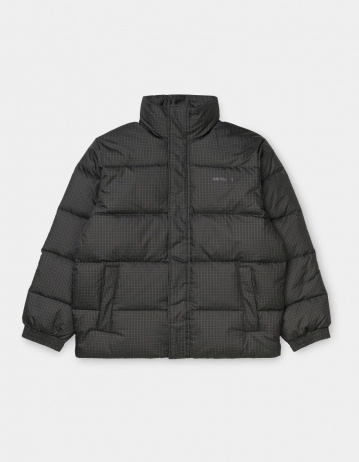 Carhartt Wip Danville Jacket Specter Check, Cypress / White. - Product Photo 1