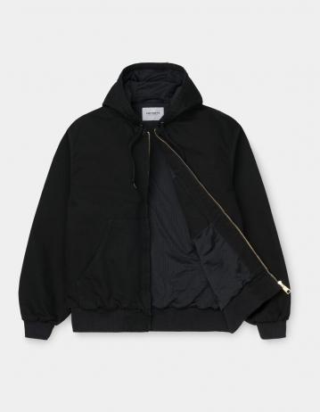 Carhartt Wip Og Active Jacket Black Rinsed. - Product Photo 2