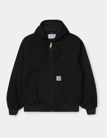 Carhartt Wip Og Active Jacket Black Rinsed. - Product Photo 1