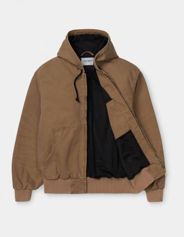 Carhartt Wip Og Active Jacket Hamilton Brown Aged Canvas. - Product Photo 2