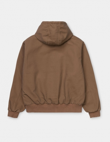 Carhartt Wip Og Active Jacket Hamilton Brown Rinsed. - Product Photo 2
