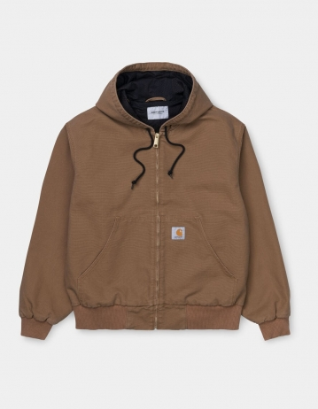 Carhartt Wip Og Active Jacket Hamilton Brown Rinsed. - Product Photo 1