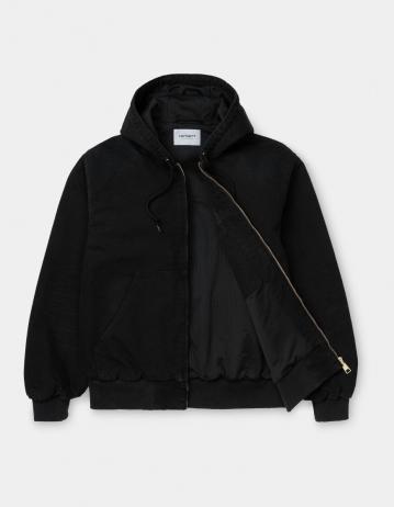Carhartt Wip Og Active Jacket Black Aged Canvas. - Product Photo 2