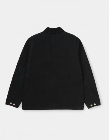 Carhartt Wip Og Chore Coat Black / Black Aged Canvas. - Product Photo 2