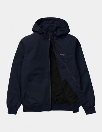 Carhartt Wip Marsh Jacket Dark Navy / White. - Product Photo 2