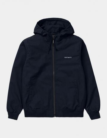 Carhartt Wip Marsh Jacket Dark Navy / White. - Product Photo 1