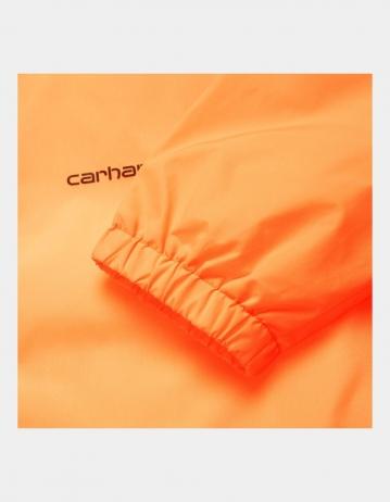 Carhartt Wip Carhartt Script Coach Jacket Pop Orange / Black. - Product Photo 2