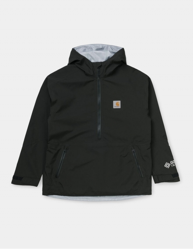 Carhartt Wip Gore-Tex Infinium™ Point Pullover Black. - Man Jacket  - Cover Photo 1