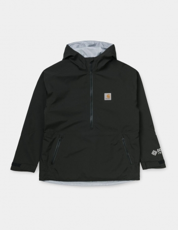 Carhartt WIP GORE-TEX INFINIUM™ Point Pullover Black. - Man Jacket - Miniature Photo 1
