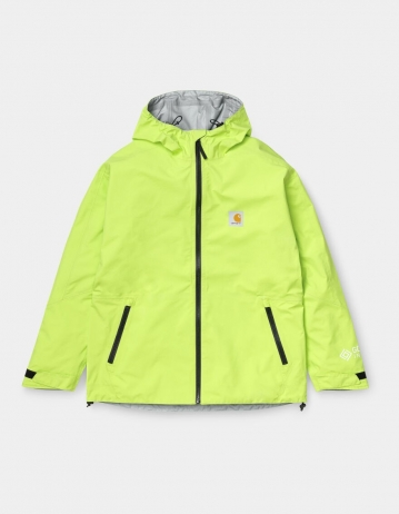 Carhartt Wip Gore-Tex Infinium™ Point Jacket Lime. - Product Photo 1