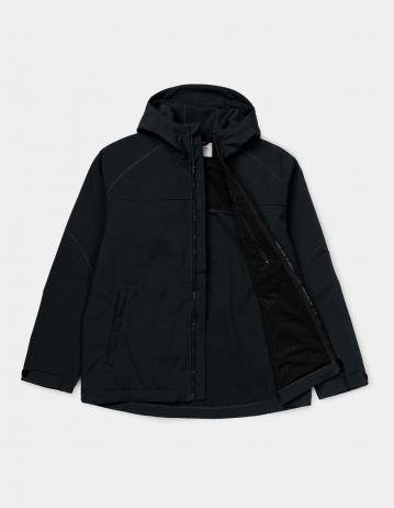 Carhartt Wip Softshell Jacket Black. - Product Photo 2