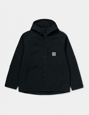 Carhartt Wip Softshell Jacket Black. - Product Photo 1