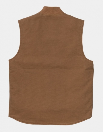 Carhartt Wip Classic Vest Hamilton Brown Rinsed. - Product Photo 2