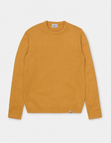 Carhartt Wip Allen Sweater Winter Sun. - Product Photo 1