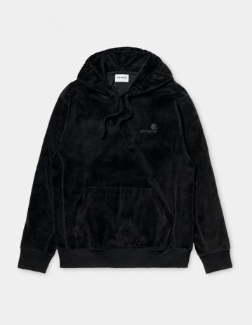 Carhartt Wip Hooded United Script Sweatshirt Black. - Product Photo 2
