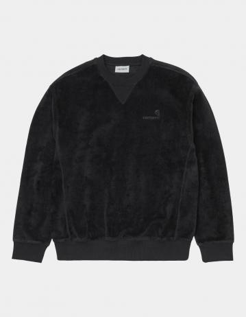 Carhartt Wip United Script Sweatshirt Black. - Product Photo 2