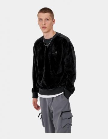 Carhartt Wip United Script Sweatshirt Black. - Product Photo 1