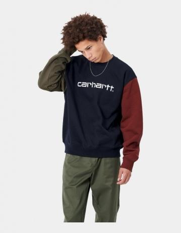 Carhartt Wip Carhartt Tricol Sweatshirt Dark Navy. - Product Photo 1