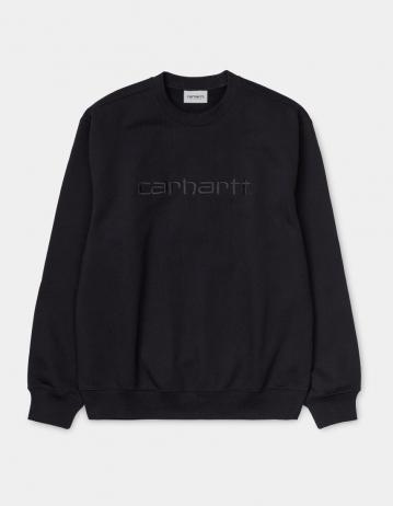 Carhartt Wip Carhartt Sweatshirt Black / Black. - Product Photo 2