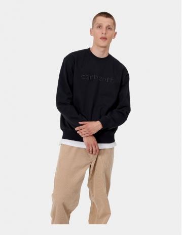 Carhartt Wip Carhartt Sweatshirt Black / Black. - Product Photo 1