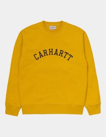 Carhartt Wip University Sweatshirt Colza / Black. - Product Photo 1