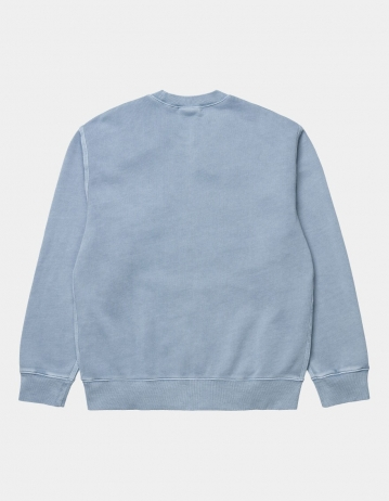Carhartt Wip Sedona Sweat Frosted Blue. - Product Photo 2