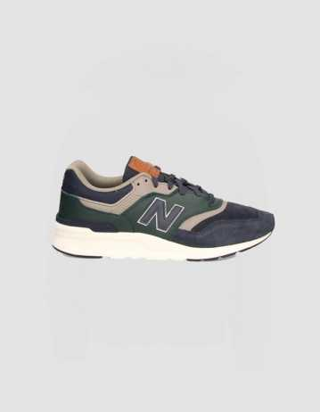 New Balance - 997h - Navy/Green - Product Photo 1