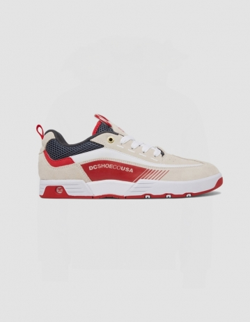 Dc Shoes Legacy 98 - White/Red - Product Photo 1