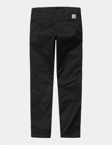 Carhartt Wip Sid Pant Black Rinsed. - Product Photo 2