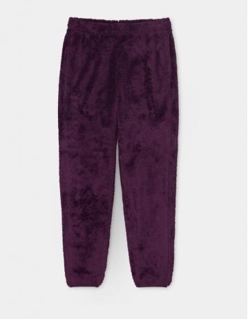 Carhartt Wip W Fernie Sweat Pant Boysenberry / Black. - Product Photo 2