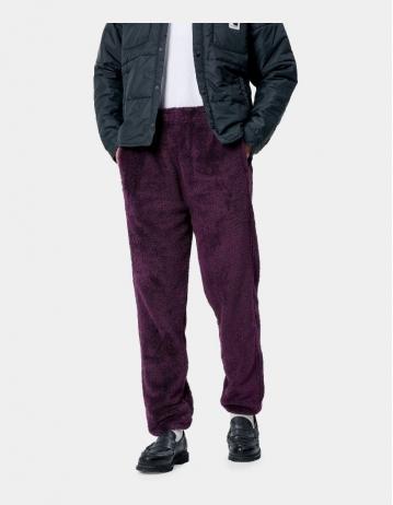 Carhartt Wip W Fernie Sweat Pant Boysenberry / Black. - Product Photo 1