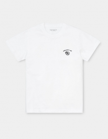 Carhartt Wip W S/S Reverse Midas T-Shirt White / Black. - Product Photo 2