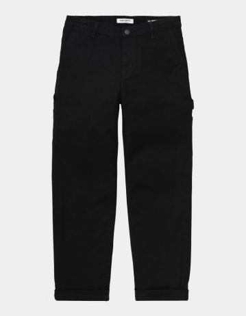 Carhartt Wip W Pierce Pant Black Rinsed. - Product Photo 1
