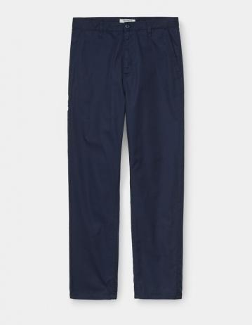 Carhartt Wip W Devon Pant Dark Navy Rinsed. - Product Photo 1