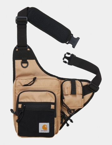 Carhartt Wip Delta Shoulder Bag Dusty H Brown. - Product Photo 1
