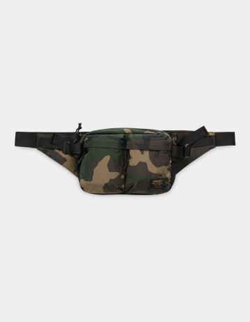 Carhartt Wip Military Hip Bag Camo Laurel / Black. - Product Photo 2