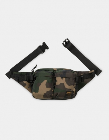 Carhartt Wip Military Hip Bag Camo Laurel / Black. - Product Photo 1