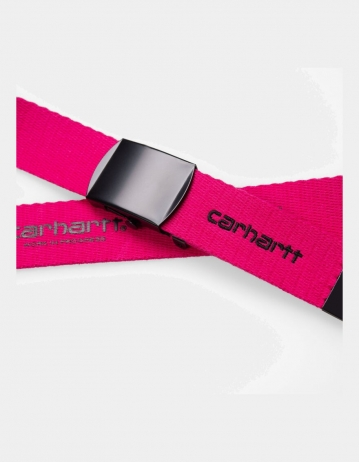 Carhartt Wip Orbit Belt Ruby Pink / Black. - Product Photo 2