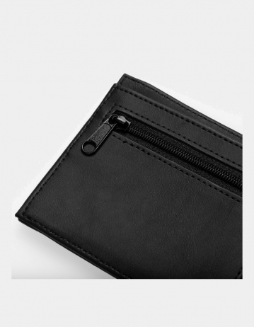Carhartt Wip Coated Billfold Wallet Black / White. - Product Photo 2