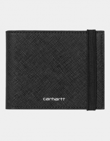 Carhartt Wip Coated Billfold Wallet Black / White. - Product Photo 1