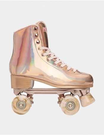 Impala Rollerskates – Marawa Rose Gold - Roller Skates - Miniature Photo 1