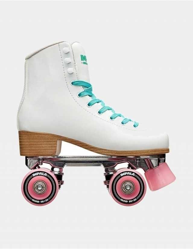 Impala Rollerskates – White - Roller Skates  - Cover Photo 1